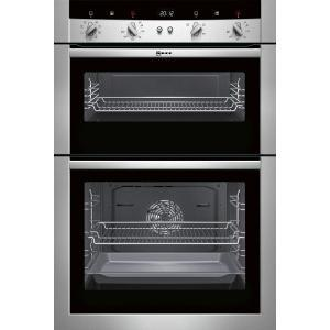 Neff U15M52N3GB Electric Built-in Double Oven - Stainless Steel