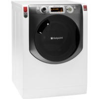 Hotpoint AQ113DA697E Aqualtis 11kg 1600rpm Freestanding Washing Machine - White With Tungsten Door
