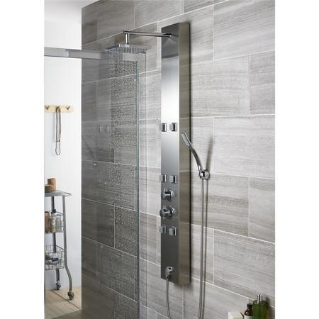 Bask Thermostatic Shower Panel