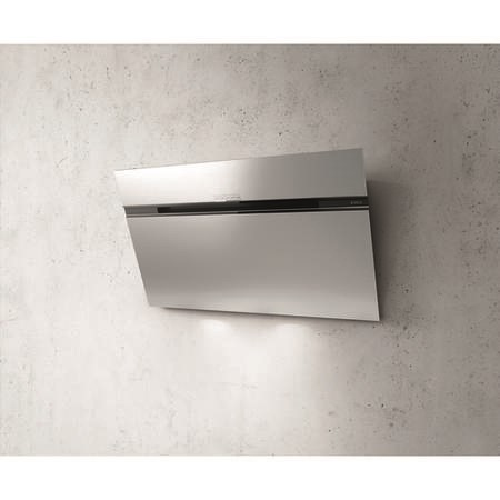 Elica ASC-LED-90-SS Ascent 90cm Angled Cooker Hood - Stainless Steel