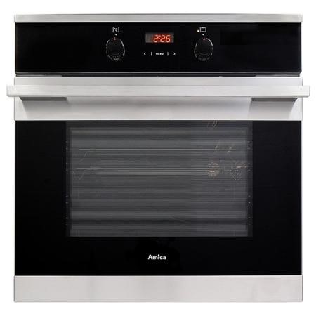 Amica ASC360SS 5-function 65L Single Fan Oven With Pyrolytic Cleaning - Stainless Steel