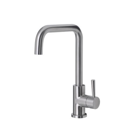 Reginox Single Lever Brushed Steel Tap With LED Lighting