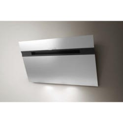 Elica ASCENT90SS Ascent Stainless Steel Angled 90cm Chimney Cooker Hood