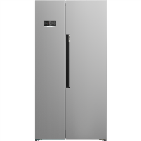 Beko ASL1342S Side-by-side American Fridge Freezer - Silver Best Price, Cheapest Prices