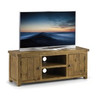 Julian Bowen Aspen Large Pine TV Unit with Storage