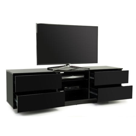 MDA Designs Avitus TV Cabinet in Black High Gloss - up to 65 inch