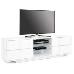 GRADE A2 - Light cosmetic damage - MDA Designs Avitus TV Cabinet in White High Gloss - up to 65 inch