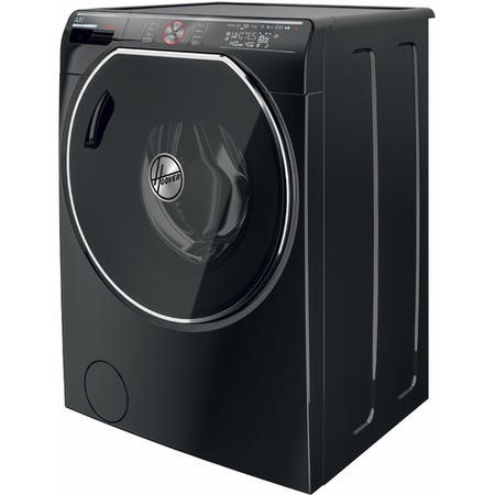 GRADE A2 - Hoover AWDPD6106LHB AXI WiFi Smart 10kg Wash 6kg Dry 1600rpm Freestanding Washer Dryer - Black With Tinted Door