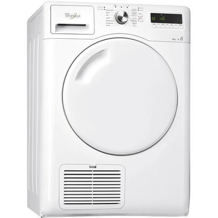 Whirlpool AZB9781 9kg Freestanding Condenser Tumble Dryer White