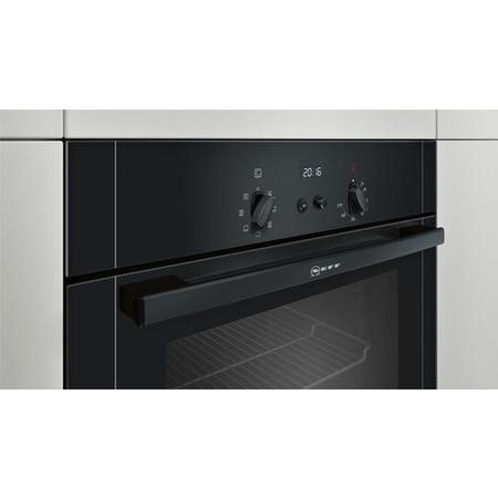 Neff B14M42S5GB built-in/under single oven Electric Built-in  in Black