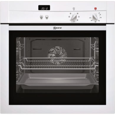B14M42W3GB Neff B14M42W3GB built-in/under single oven Electric In White