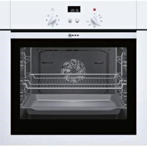 Neff B14M42W5GB built-in/under single oven Electric Built-in  in White