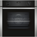 GRADE A1 - Neff B1ACE4HN0B N50 6 Function Single Oven With Catalytic Cleaning - Stainless Steel
