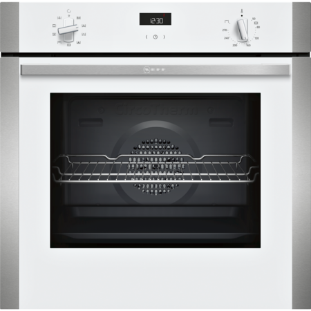 Neff B1ACE4HW0B N50 6 Function Single Oven With Catalytic Cleaning - White