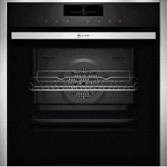 NEFF B48FT78N0B Slide & Hide Electric Built-in Single Steam Oven Stainless Steel