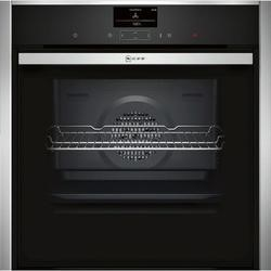 Neff B57CS24N0B Slide & Hide Electric Built-in Single Oven Stainless Steel