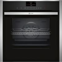 GRADE A2 - Neff B57VS24N0B Slide & Hide Electric Built-in Single Oven Stainless Steel
