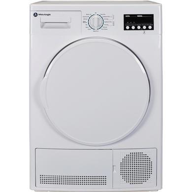 White Knight B96V8W B93V7W 7kg Sensor Condenser Tumble Dryer - White