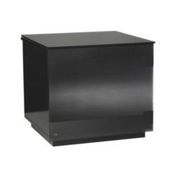 UK-CF Barcelona Gloss Black TV Cabinet - Up to 42 Inch