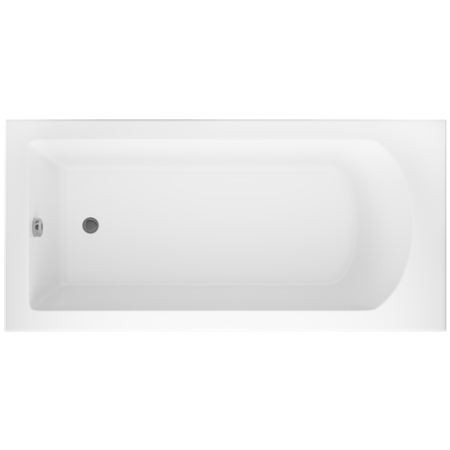 Rouen Single Ended Square Style Standard Bath - 1700 x 750mm