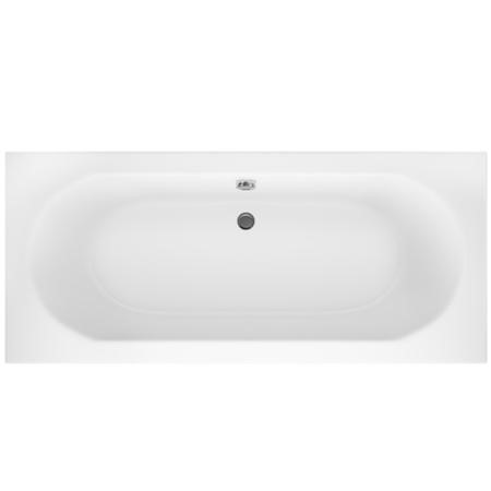 Mosanto Double Ended Round Style Standard Bath - 1700 x 750mm