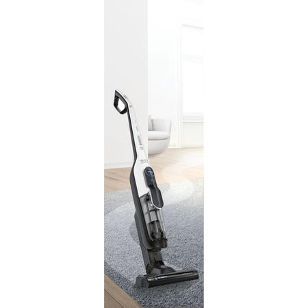 Bosch BBH65ATHGB Cordless Upright Vacuum Cleaner - White And Black