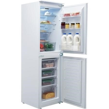 Candy BCBS50NUK 228 Litre Integrated Fridge Freezer 50/50 Split 177cm Tall A+ Energy Rating 54cm Wide - White