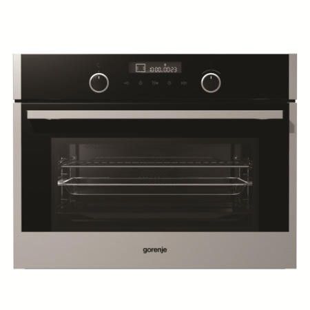 Gorenje BCM547S12X Compact 50L Combination Microwave Stainless Steel