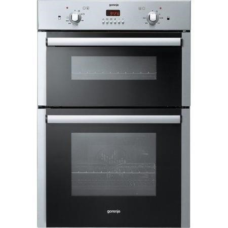 Gorenje BD2116AX Electric Built-in Fan Double Oven Stainless Steel