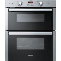 Gorenje BDU2116AX Built-under Double Cavity Oven Stainless Steel
