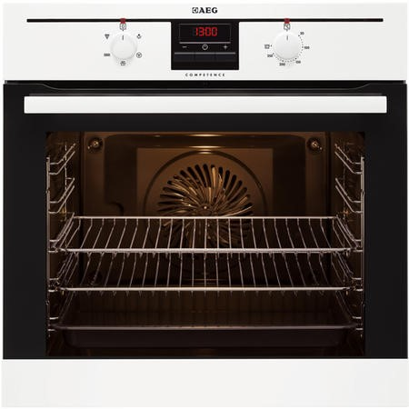 AEG BE2003021W 74L Electric Built-in Single Fan Oven - White