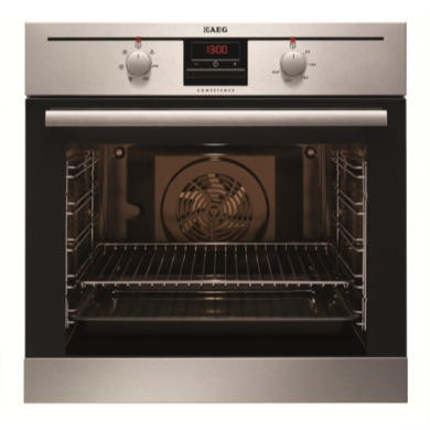 BE300302KM AEG BE300302KM Multifunction Electric Built-in Single Oven Antifingerprint Stainless Steel