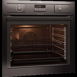 BE5304001B AEG BE5304001B MaxiKlasse SoftMotion Electric Built In Single Oven in Black