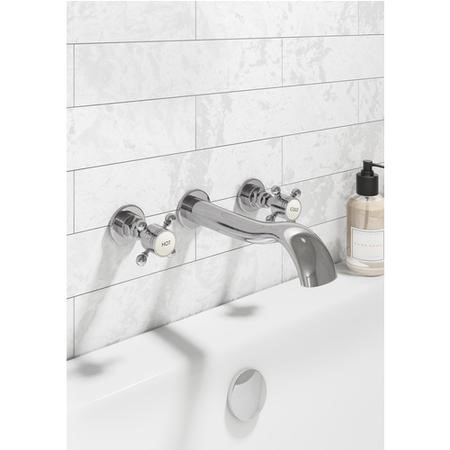 Taylor & Moore Wall Mounted Basin Mixer Tap
