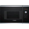 Bosch BEL523MS0B Serie 4 800W 20L Built-in Microwave Oven with Grill - Stainless Steel