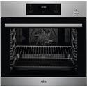 AEG BES355010M Electric Built-in Single Oven With SteamBake - Antifingerprint Stainless Steel
