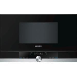 Siemens BF634LGS1B iQ700 21 Litre 900 Watt Built-in Microwave Oven Black And Stainless Steel