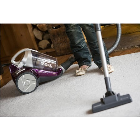 Hoover BF70VS11 Vision Reach AAA-rated 700W Bagless Pets Cylinder Vacuum Cleaner Purple