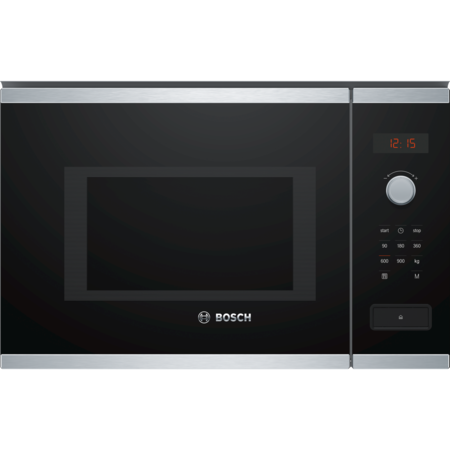 Bosch BFL553MS0B Serie 4 900W 25L Built-in Microwave Oven - Stainless Steel