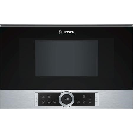 Bosch BFL634GS1B Serie 8 Built-in Standard Microwave in Stainless steel