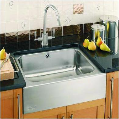 Franke Bfx710dp Belfast Single Bowl Stainless Steel Sink And Tap Designer Pack Appliances Direct