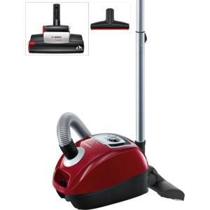 Bosch BGL4PETGB Vacuum Cleaner in Cayenne red, silver