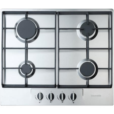 Baumatic BHG620SS 4 Burner 60cm Wide Gas Hob - Stainless Steel