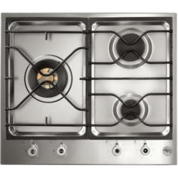 Bertazzoni BHOB-PM603-0X Design 60cm Three Burner Gas Hob Stainless Steel