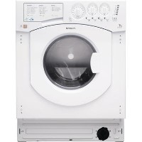 Hotpoint BHWD1491 7kg Wash 5kg Dry 1400rpm Integrated Washer Dryer - White