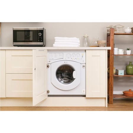 Hotpoint BHWD1491 7kg Wash 5kg Dry 1400rpm Integrated Washer Dryer