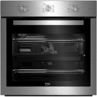 Beko BIF16100X Big Capacity 5 Function Electric Built-in Fan Single Oven Stainless Steel