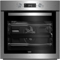 Beko BIF16300X Big Capacity 5 Function Electric Built-in Fan Single Oven Stainless Steel