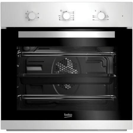 Beko BIF22100W Big Capacity 5 Function Electric Built-in Fan Single Oven White