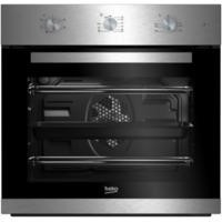 Beko BIF22100X Big Capacity 5 Function Electric Built-in Fan Single Oven Stainless Steel